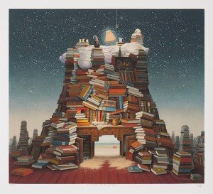 night reading jacek yerka