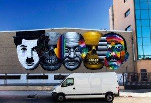 a london street art design